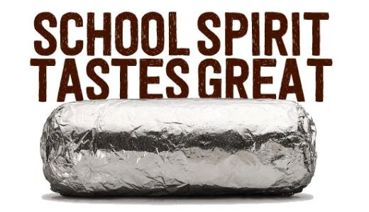 PTSO Dinner Event, Chipotle, March 10th